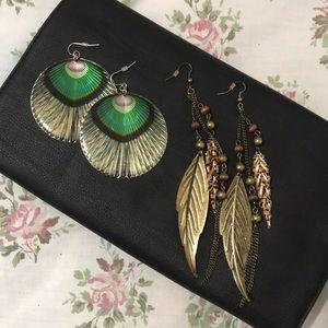 BUNDLE: Forever21 Statement Earrings